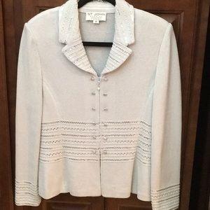 St John Evening knit 2 piece suit